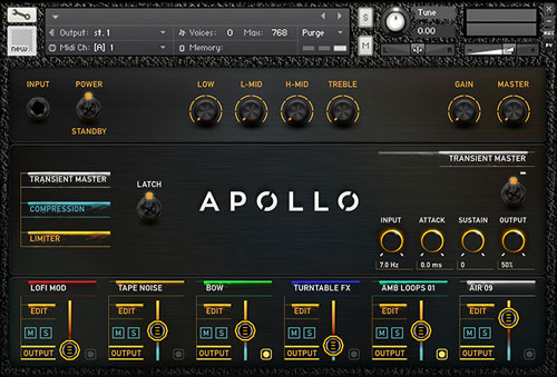 Apollo Ambient Designer View 2