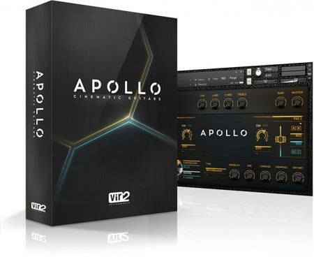 Apollo Cinematic Guitars Main Screen